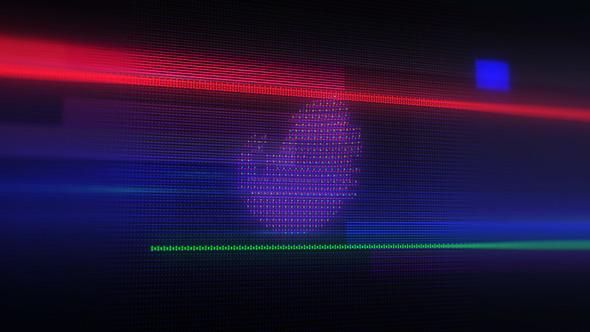 Videohive Glitch LED Logo 22610553