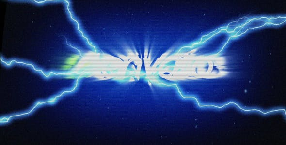 Videohive Glitch Lightning Reveal 4055098