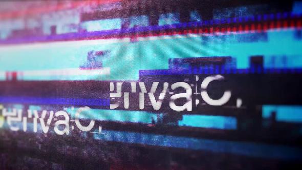 Videohive Glitch Logo Reveal 21401383