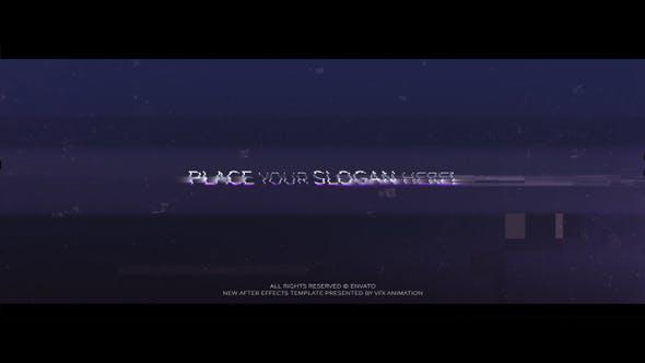 Videohive Glitch Logo v.1 26955930