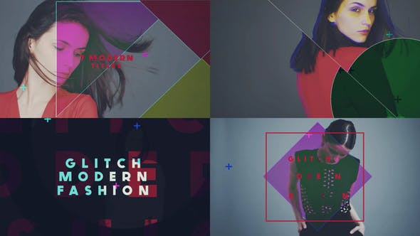 Videohive Glitch Modern Fashion 18709723