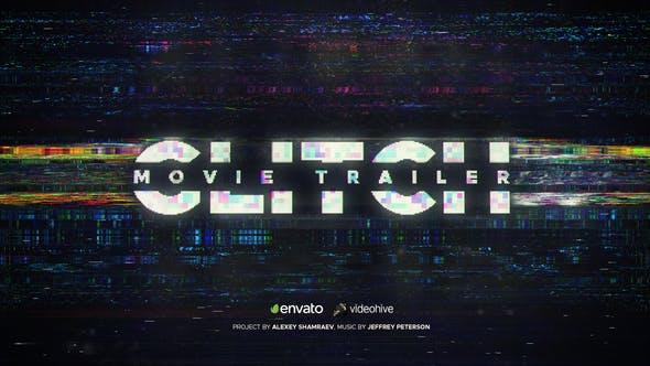 Videohive Glitch Movie Trailer 22370723