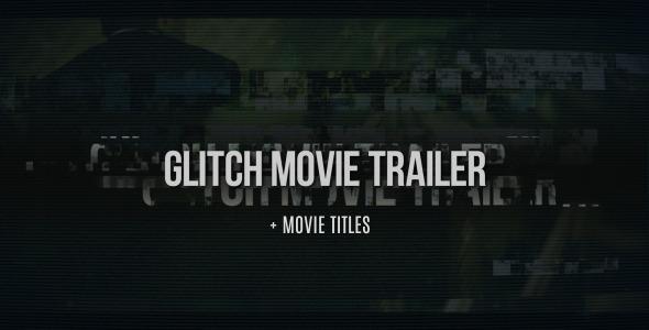 Videohive Glitch Movie Trailer 8774798