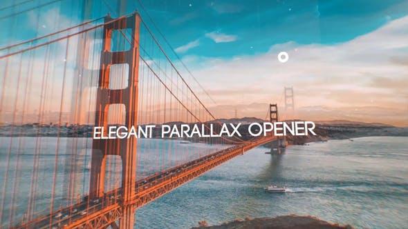 Videohive Glitch Parallax Opener 16885984