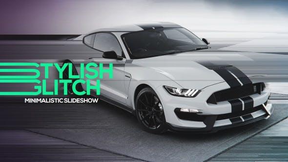 Videohive Glitch Slideshow 15233290