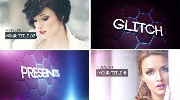Videohive Glitch Slideshow 2 8471785
