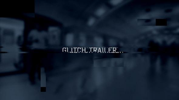 Videohive Glitch Trailer Slideshow Opener 9963568