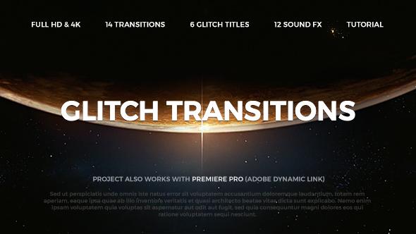 Videohive Glitch Transitions 20479670