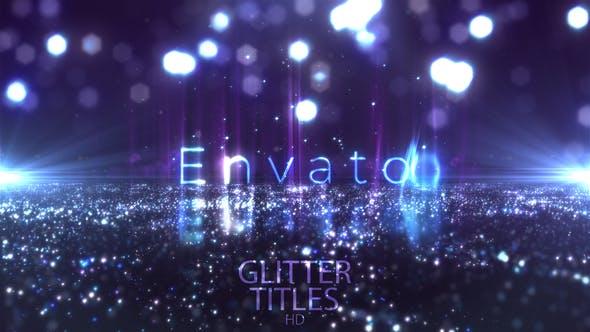 Videohive Glitter Fashion Titles 24113322