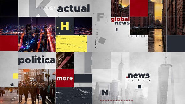 Videohive Global News Intro 24985905