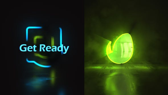 Videohive Glow Stroke Logo Reveal 25086647
