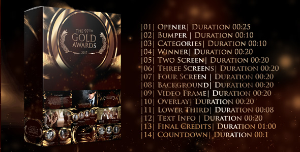 Videohive Gold Awards 20268254
