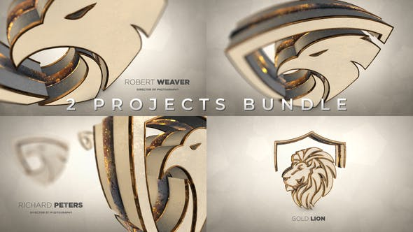Videohive Gold Luxury And Epic Logo Reveal 26221278
