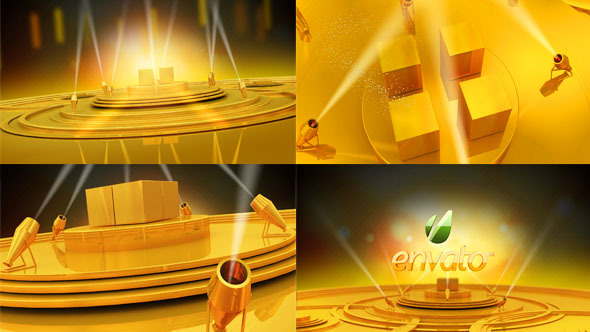 Videohive Gold Stage