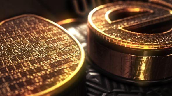 Videohive Gold treasure Logo 15024546