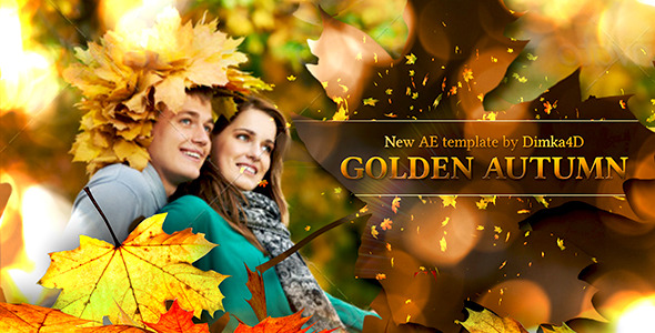 Videohive Golden Autumn 5615144