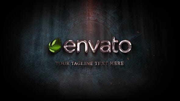 Videohive Golden Energy Logo Reveal 25761349