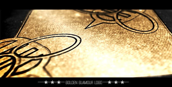 Videohive Golden Glamour Erotic Logo 2055611