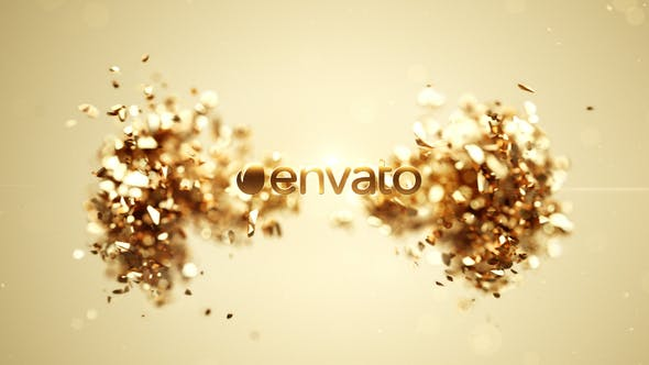 Videohive Golden Splash Logo 2 22662102