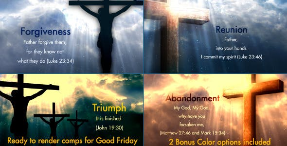Videohive Good Friday Opener 4279771