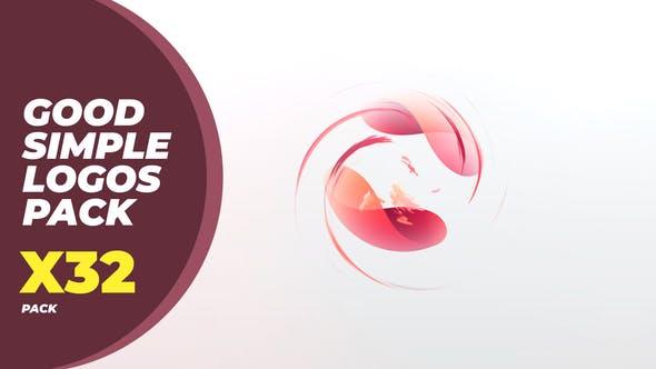 Videohive Good Simple Logos Pack 25367101