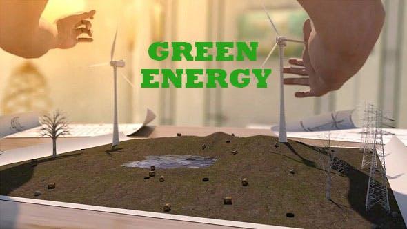 Videohive Green Energy 19640629