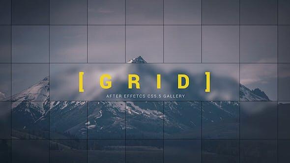 Videohive Grid Gallery 14871157