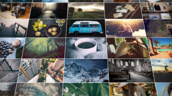 Videohive Grid Photo Gallery 13092523
