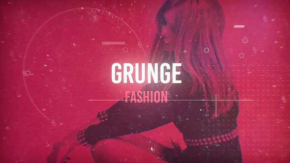 Videohive Grunge Fashion 21257990