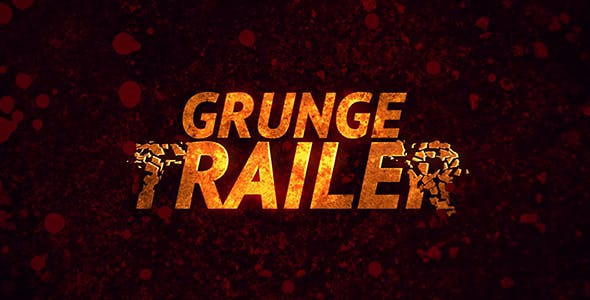 Videohive Grunge Trailer 17704555