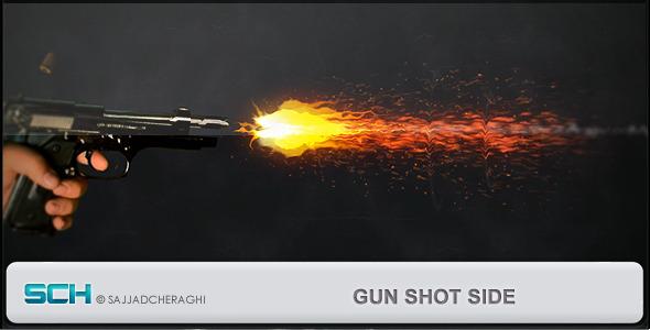 Videohive Gun Shot Side 3774653
