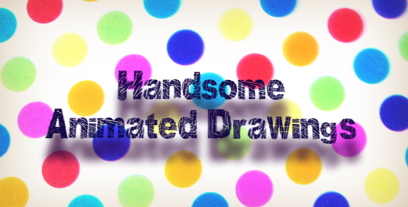 Videohive HANDSOME ANIMATED DRAWINGS