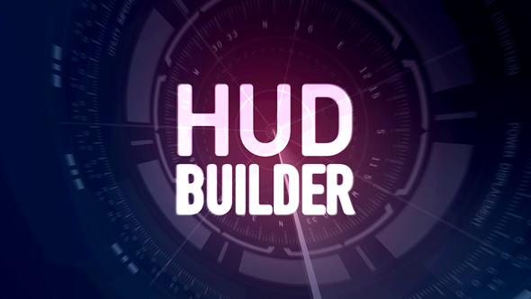 Videohive HUD Builder 17555838