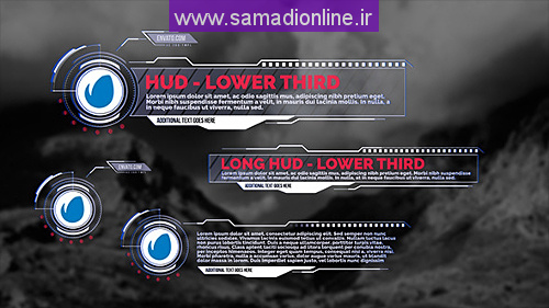 Videohive HUD - Lower Thirds