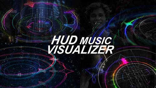 Videohive HUD Music Visualizer 18675723