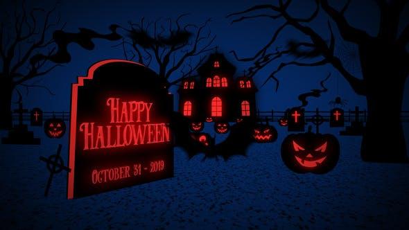 Videohive Halloween Greetings 13237983