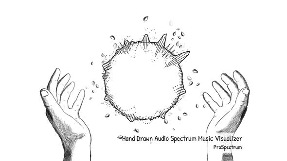 Videohive Hand Drawn Audio Spectrum Music Visualizer 15288957