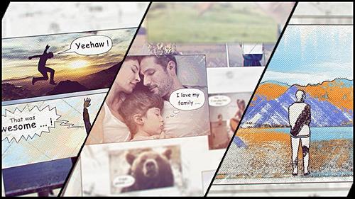 Videohive Hand Drawn Family Holiday Slideshow 12894168