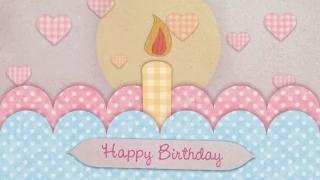Videohive Happy Birthday Card