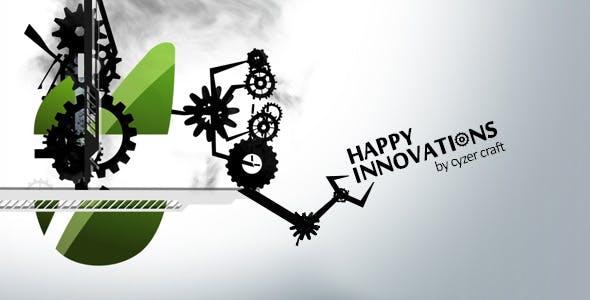 Videohive Happy Fun Mechanical Engineering Logo 4371113