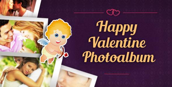 Videohive Happy Valentine Photoalbum 6758027