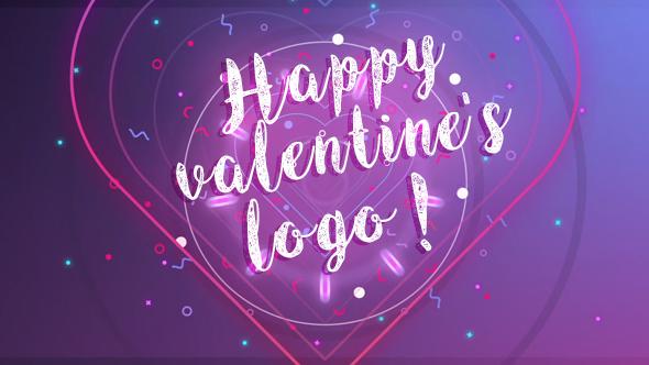 Videohive Happy Valentine logo 19392134
