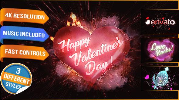 Videohive Heart Love Logo 19332006