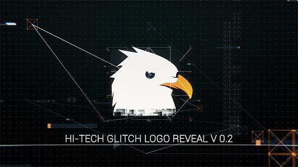 Videohive Hi-Tech Glitch Logo Reveal 11330410