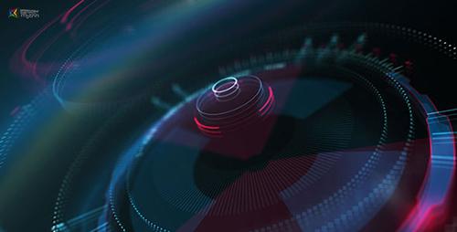 Videohive Hi-Tech HUD Logo Reveal 17522904