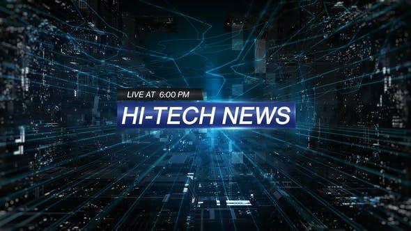 Videohive Hi-Tech News 25396295