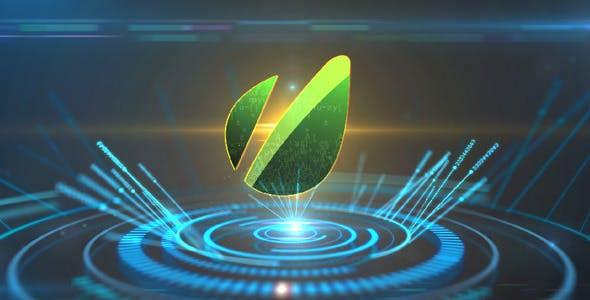 Videohive Hi-tech logo 2484346