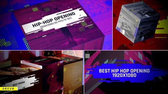Videohive Hip-Hop Opening 26679021
