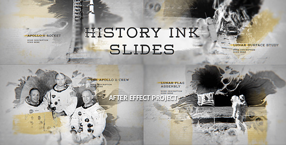 Videohive History Ink Slides 19152412