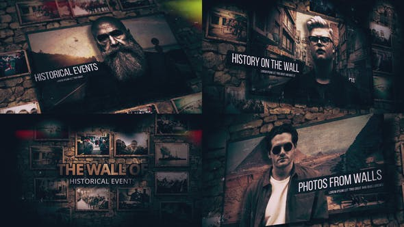 Videohive History On The Walls 26562958